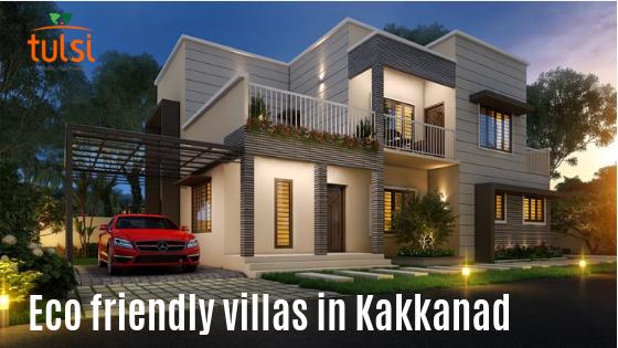 Eco friendly villas in Kakkanad